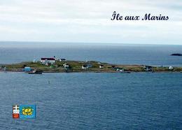 Saint Pierre And Miquelon Ile Aux Marins New Postcard - Saint-Pierre-et-Miquelon