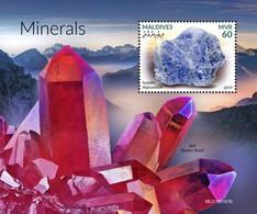2019-05- MALDIVES - MINERAUX         1V    MNH** - Minerals