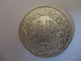 Suisse: 2 Francs 1939 (silver) - Suisse