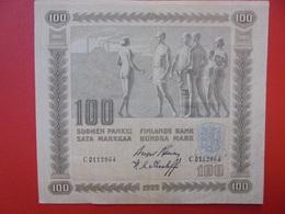 FINLANDE 100 MARKKAA 1922 BELLE QUALITE CIRCULER (B.1) - Finland