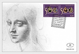 Bosnië & Herzegovina / Bosnia - Postfris / MNH - FDC 500 Years Leonardo Da Vinci 2019 - Bosnië En Herzegovina