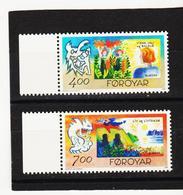 TNT203 DÄNEMARK - FÄRÖER 1995  Michl 278/79 ** Postfrisch SIEHE ABBILDUNG - Färöer Inseln