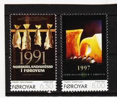 TNT200 DÄNEMARK - FÄRÖER 2003  Michl 448/49 ** Postfrisch SIEHE ABBILDUNG - Färöer Inseln