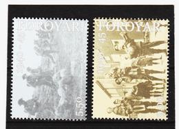 TNT202 DÄNEMARK - FÄRÖER 2005  Michl 543/44 ** Postfrisch SIEHE ABBILDUNG - Färöer Inseln