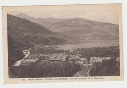 AA484 - CHEDDE - Usine - Plaine Du Fayet Et Le Mont Joly - France