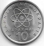 *greece 10 Drachme 1976  Km 119  Bu !!!!!! - Grèce