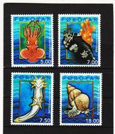 TNT180 DÄNEMARK - FÄRÖER 2002  Michl 417/20 SATZ ** Postfrisch SIEHE ABBILDUNG - Färöer Inseln