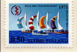 PIA - FINLANDIA - 1971 : Campionato Europeo E Mondiale Di Vela - Classe Linghtining A Helsinki - (Yv 660) - Vela