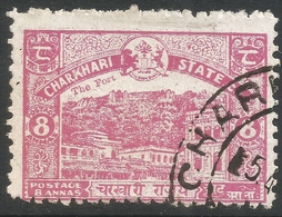 Charkhari(India). 1931 Definitives, 8a Used SG 49 - Charkhari