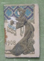 Mini Calendrier - 1908 - Chicorée Extra - A La Belle Jardinière - C. Bériot à Lille - Kalender