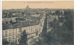 CPSM - Belgique - Brussels - Bruxelles - St-Josse-ten-Noode - Rue Saint-Lazare - St-Joost-ten-Node - St-Josse-ten-Noode