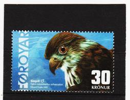 TNT177 DÄNEMARK - FÄRÖER 2002  Michl 435 ** Postfrisch SIEHE ABBILDUNG - Färöer Inseln