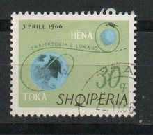 Ref: 1429. Albania. 1966. Trayectoria Lunar. - Albania