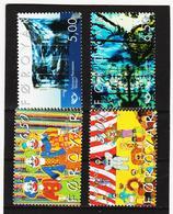TNT176 DÄNEMARK - FÄRÖER 2002  Michl 421/24 ** Postfrisch SIEHE ABBILDUNG - Färöer Inseln
