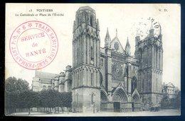 Cpa  Cachet Train Sanitaire N°6 Semi Permanent Service De Santé    JM6 - Postmark Collection (Covers)