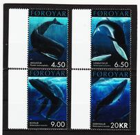 TNT175 DÄNEMARK - FÄRÖER 2001  Michl 408/11 ** Postfrisch SIEHE ABBILDUNG - Färöer Inseln