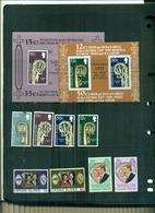 CAYMAN PAQUES 75 -NOEL 75-NOCES D'ARGENT-NOCES PRINCESSE ANNA 8 VAL + 2 BF NEUFS A PARTIR DE 0.75 EUROS - Cayman Islands