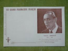 Les Grands Pharmaciens Français - N° 7 - LOUIS JOUVET 1887-1951 - Fut L'un Des Plus Grands Acteurs De Tous Les Temps - Buvards, Protège-cahiers Illustrés