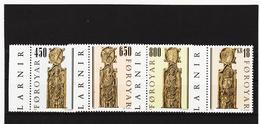 TNT174 DÄNEMARK - FÄRÖER 2001  Michl 387/90 ** Postfrisch SIEHE ABBILDUNG - Färöer Inseln