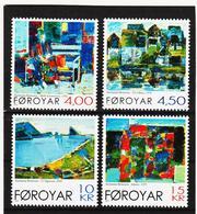 TNT173 DÄNEMARK - FÄRÖER 2001  Michl 404/07 ** Postfrisch SIEHE ABBILDUNG - Färöer Inseln