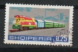 Ref: 1432. Albania. Medio De Transporte. Locomotora Diesel. - Albania