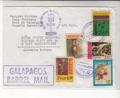 Ecuador / Galapagos Barrel Mail / Airmail - Ecuador