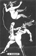 """Dessin érotique - Reproduction De 1980 """" Le Bilboquet """" Humour Erotica Curiosa Erotic - Dessins"""