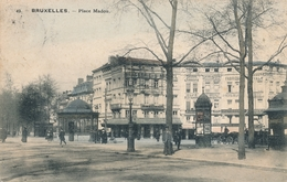 CPA - Belgique - Brussels - Bruxelles - Place Madou - St-Josse-ten-Noode - St-Joost-ten-Node