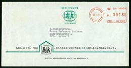 FR Denmark Cover With Meter Cancel   København 23.10.1981 (Danske Venner Af SOS Børnebyerne) Children's Villages - Lettere