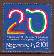 Hongarije Mi 5383 Grensovergang Hongarije,Oostenrijk 20 Jaar  Gestempeld Fine Used - Usado