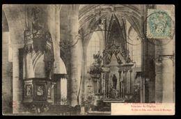 51 - CHEMINON LA VILLE (Marne) - Intérieur De L'Eglise - France