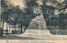 CPA - Belgique - Brussels - Bruxelles - Monument Des Combattants - St-Josse-ten-Noode - St-Joost-ten-Node