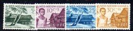 APR1183 - NUOVA GUINEA OLANDESE 1957 , Serie  Yvert N. 39/42  ***  MNH  (2380A) Contro La Lebbra - Nuova Guinea Olandese