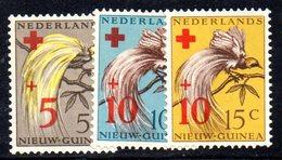 APR1184 - NUOVA GUINEA OLANDESE 1955 , Serie  Yvert N. 36/38  ***  MNH  (2380A) Croce Rossa - Nuova Guinea Olandese