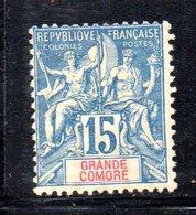 APR1185 - GRANDE COMORE 1897 ,  Yvert N. 6 Linguella *  (2380A) - Nuovi