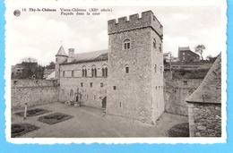 Thy-le-Château (Walcourt)-+/-1950-Vieux Château (12e S)-Façade Dans La Cour-Photoplastifix A.Dohmen - Walcourt