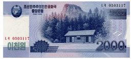 NORTH KOREA 2000 WON 2008 Pick 65 Unc - Korea, North