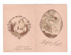 CALENDARIETTO  PROFUMI LEPIT 1920 SEMESTRINO - Other
