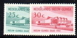 APR1189 - NUOVA GUINEA OLANDESE 1961 , Serie  Yvert N. 62/63  ***  MNH  (2380A) - Nuova Guinea Olandese