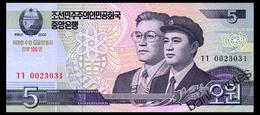 NORTH KOREA 5 WON 2002(2013) COMMRMORATIVE Pick CS9 Unc - Korea, North