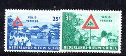 APR1188 - NUOVA GUINEA OLANDESE 1962 , Serie  Yvert N. 68/69  ***  MNH  (2380A) - Nuova Guinea Olandese