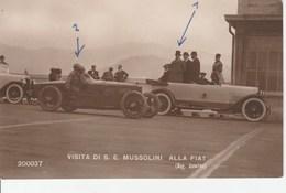 Visita Di S.e Mussolini Alla Fiat - Characters