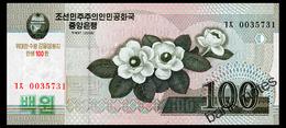 NORTH KOREA 100 WON 2008(2013) Pick COMMRMORATIVE CS12 Unc - Korea, North