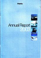 CA560 - PATRIA Annual Report 2003, Englisch, 48 Seiten - Autres