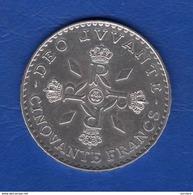 Monaco  50  Fr  1974 Arg - 1949-1956 Anciens Francs