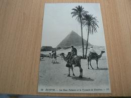 CP01/ EGYPTE LES DEUX PALMIERS ET LA PYRAMIDE DE KHINKREN / CARTE NEUVE - Autres
