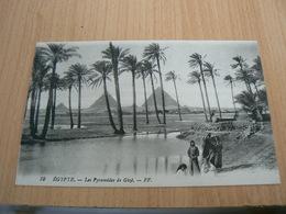 CP01/ EGYPTE LES PYRAMIDES DE GIZE / CARTE NEUVE - Autres
