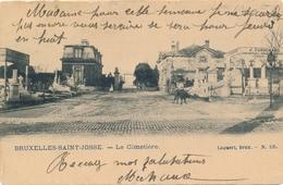 CPA - Belgique - Brussels - Bruxelles - St-Josse-ten-Noode - Le Cimetière - St-Josse-ten-Noode - St-Joost-ten-Node