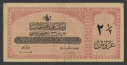 (Turquie) Billet De 2 1/2 Piastres 1916 . - Turquie