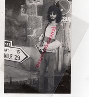 87- SAINT LEONARD NOBLAT- CHRISTOPHE TESSON MAITRISE L' ART DE LA LITHOGRAPHIE -  RARE PHOTO ORIGINALE - Persone Identificate
